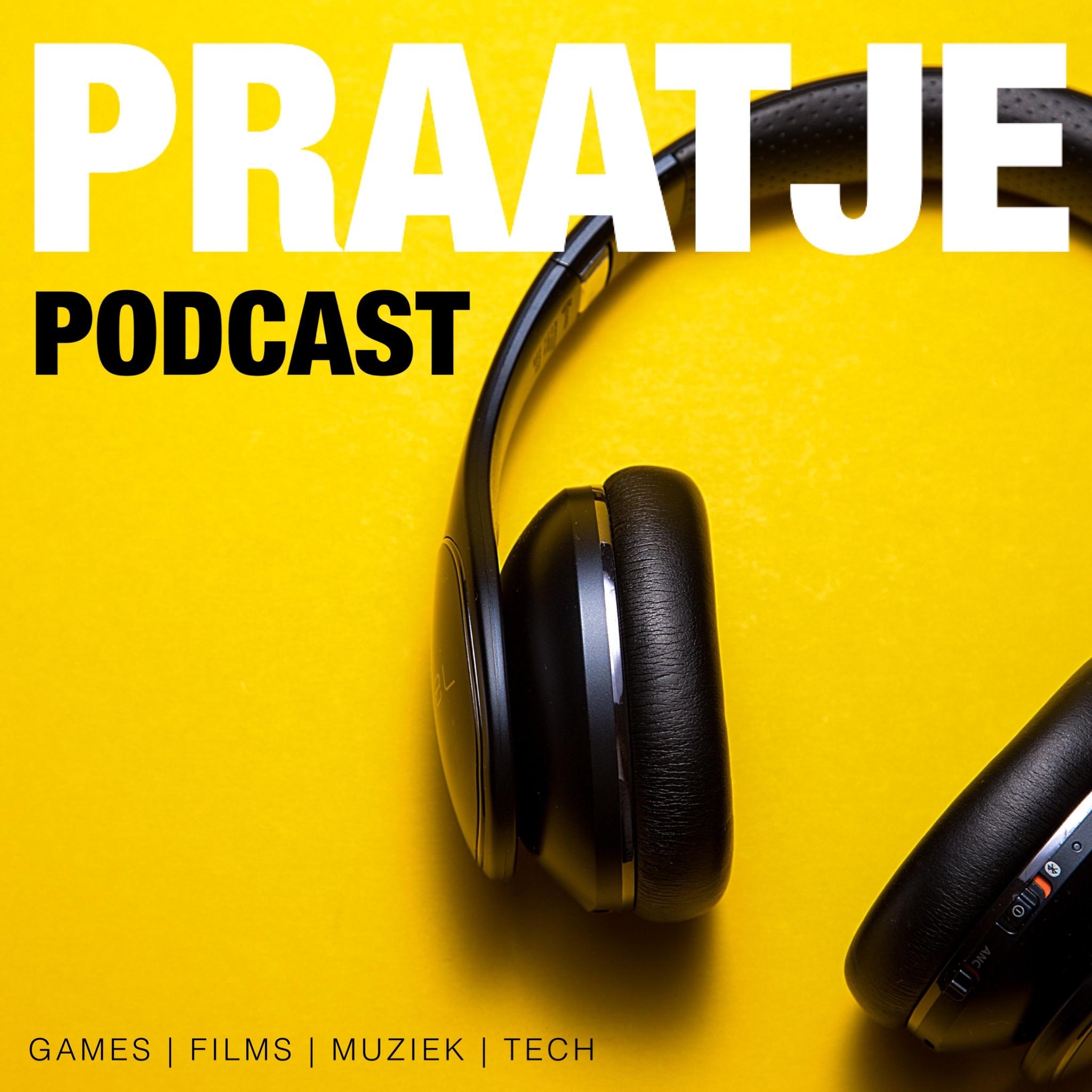 Praatje Podcast logo